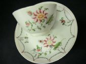 SOLD New Hall early Tea bowl and saucer